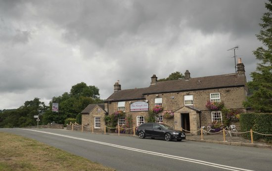 The Plough Inn: View from across the road