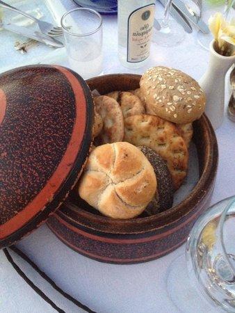 Melenos Lindos Hotel: Home made bread