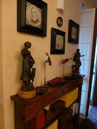 B&B Monteverdi: Decorations in the room