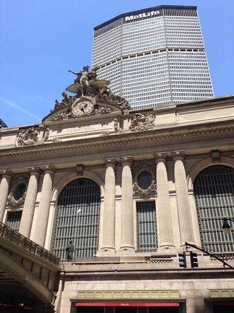 Grand Central Terminal: 駅正面