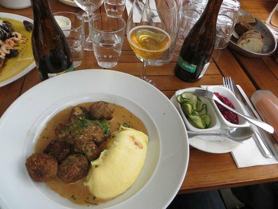 Restaurang Sjopaviljongen: Albondigas suecas