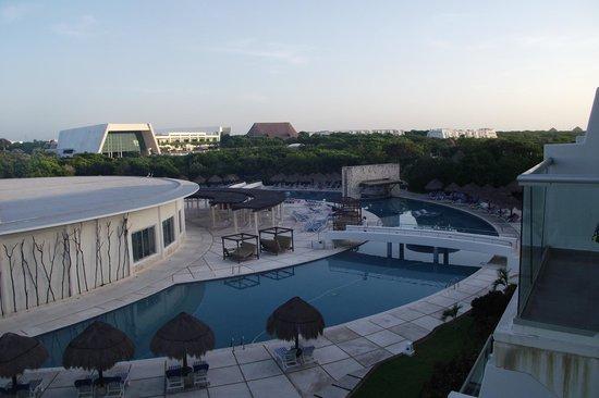 Grand Sirenis Mayan Beach Resort & Spa: View at dawn