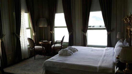 Bosphorus Palace Hotel: Oda sizi beklerken.