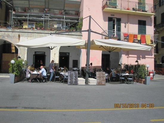 Sin Lounge Bar & Restaurant : Sin Patio