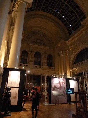 The Bourse (Stock Exchange) : Interior, La Bourse