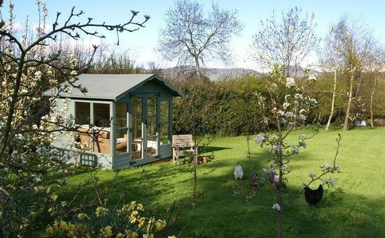 Plas Efenechtyd Cottage B&B: Summer house for guests