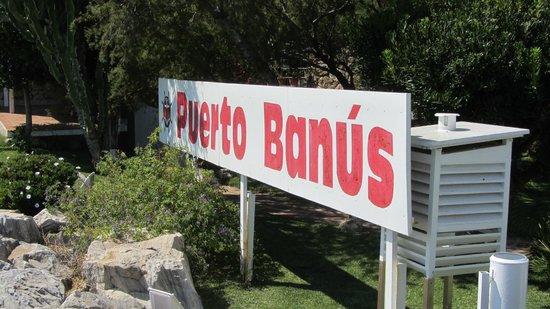 Puerto Banus Marina : sign