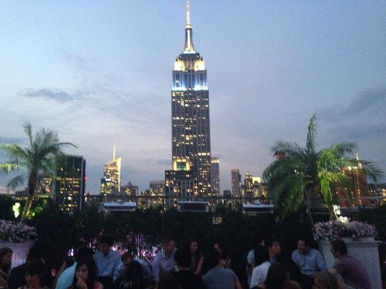 Refinery Hotel : Rooftop Bar