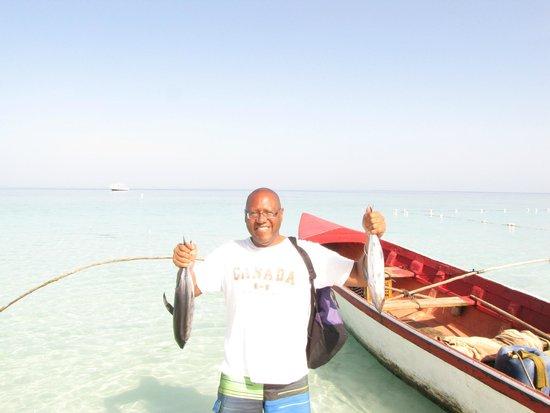 Beaches Negril Resort & Spa : Deep sea fishing with Zaifi was bountiful