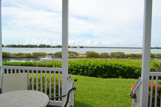Hawks Cay Resort : View from main level