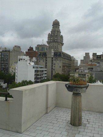 Esplendor Hotel Cervantes: vista do terraço onde fica restaurante