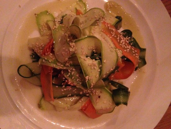 Lavanda: Zucchini salad