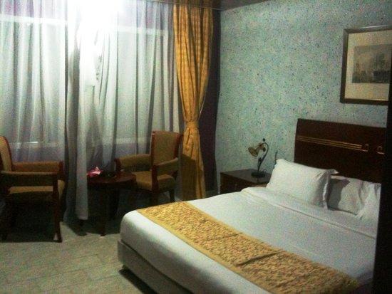 Hotel New-Beach : la chambre