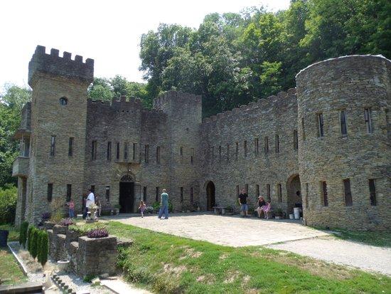 Loveland Castle: the side