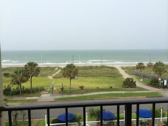 Cabana Shores Hotel: View
