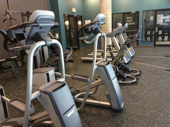 Hotel BLU: Fitness Centre