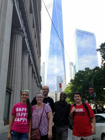 Real New York Tours: Our family with the BEST GUIDE EVER - Gregory Simmons