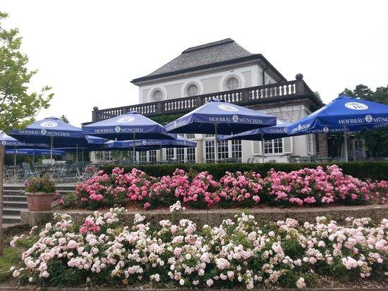 Botanischer Garten Muenchen-Nymphenburg: cafe