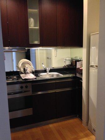 Emporium Suites by Chatrium: kitchen nook
