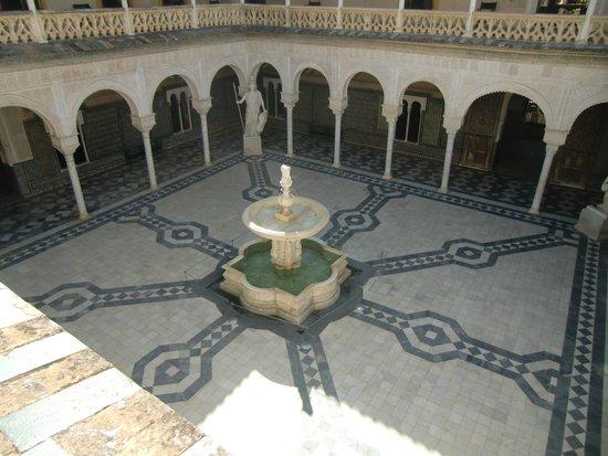 Casa de Pilatos : La cour intérieure vue de l'étage