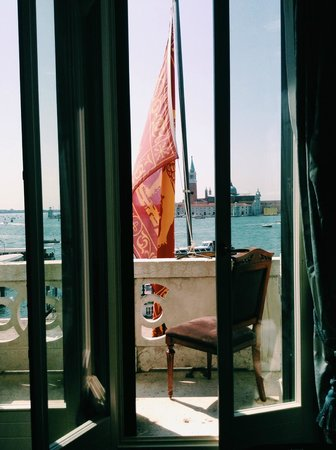 Hotel Londra Palace: Room with a view