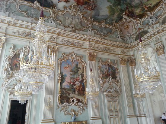 Nymphenburg Palace (Schloss Nymphenburg) : inside palace