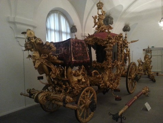 Nymphenburg Palace (Schloss Nymphenburg) : One of the king's carriages