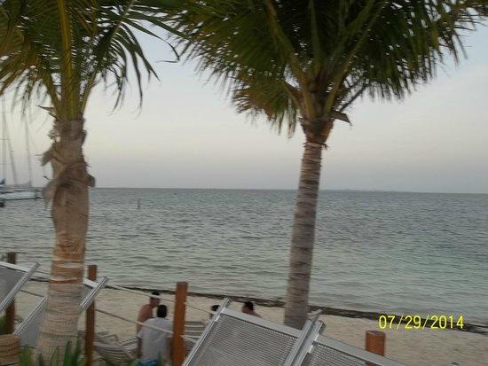 Cancun Bay Resort: Vista al Mar desde la alberca
