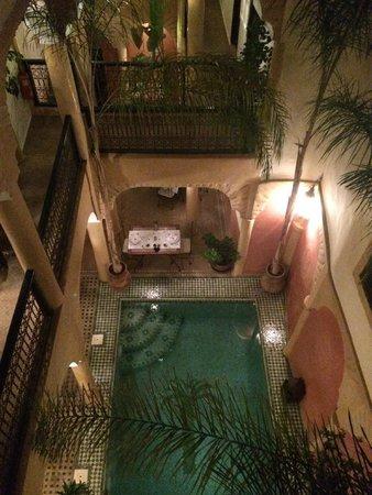 Riad Itrane: Vista dalla Suite Sirus