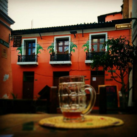 Cafe Dios No Muere: View from the terrace