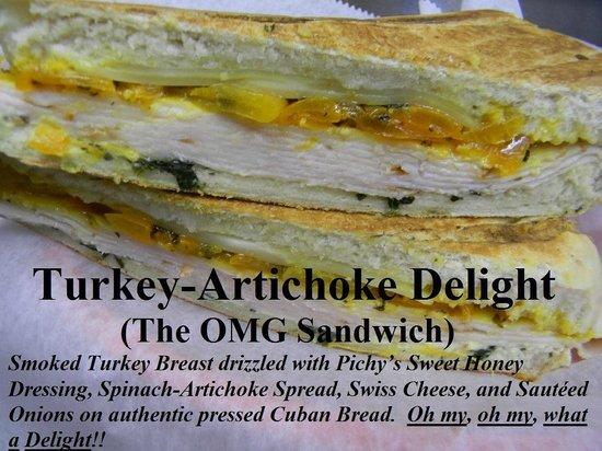 Cuba Pichy's Cuisine: The OMG Sandwich!