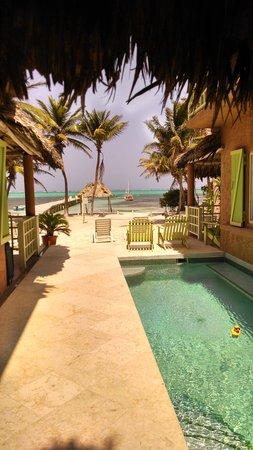 Beautiful view from Caye Casa