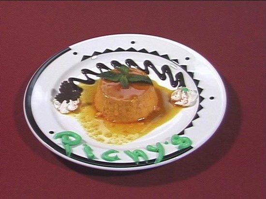 Cuba Pichy's Cuisine: Pichy's Excepcional Flan!