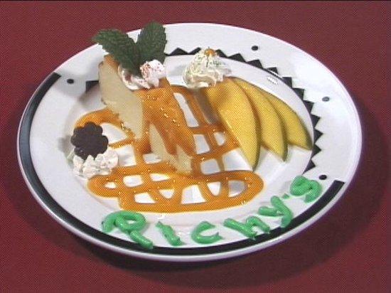 Cuba Pichy's Cuisine: Pichy's Mango Cheesecake !