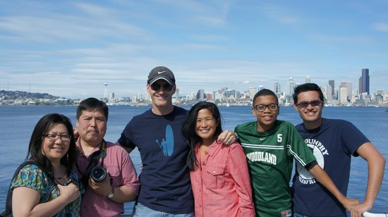 Taken onboard the ferry to Alki Beach