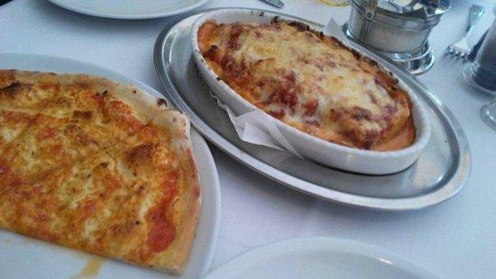 Il Gambero : Pizza and Lasagna
