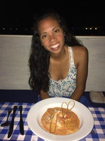 Coconut Bay Beach Resort & Spa: Capri - Lobster Ravioli