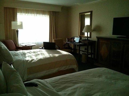 Salt Lake City Marriott City Center: Double beds