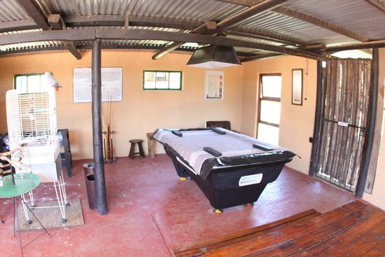 Kudu Ridge Game Ranch: Where we hung out at night while having a few drinks