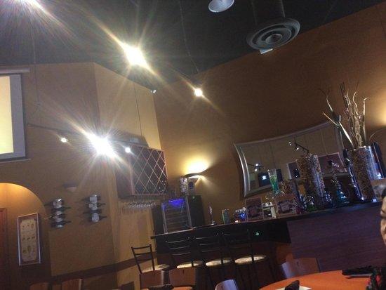 Tre Pazzi: Inside bar