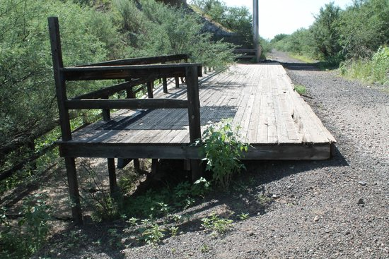 Fairbank : Old train platform