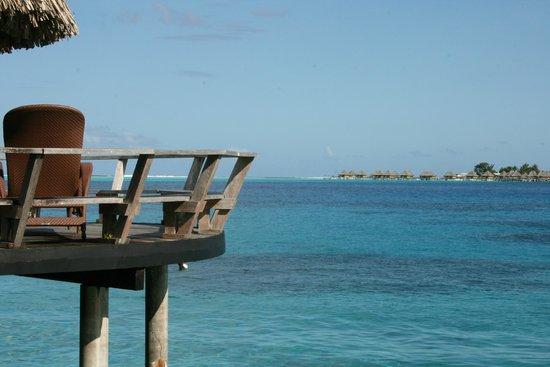 Sofitel Bora Bora Marara Beach Resort: Balcony view from Room 60