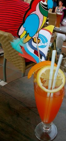 IFA Beach Hotel : Special cocktails!