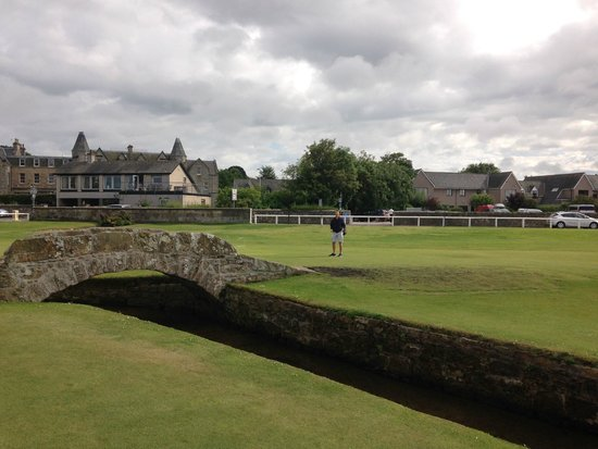 Old Course Hotel, Golf Resort & Spa : Old Course Hotel and golf course