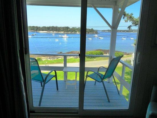 Ocean Point Inn and Resort : Balcony Ocean Point Inn, East Boothbay