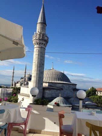 Sultanahmet Hotel : desayuno2013