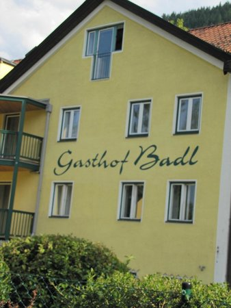 Gasthof Badl: Our room was on the top fllor