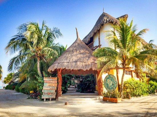 Holbox Hotel Casa las Tortugas - Petit Beach Hotel & Spa: Entrance to hotel