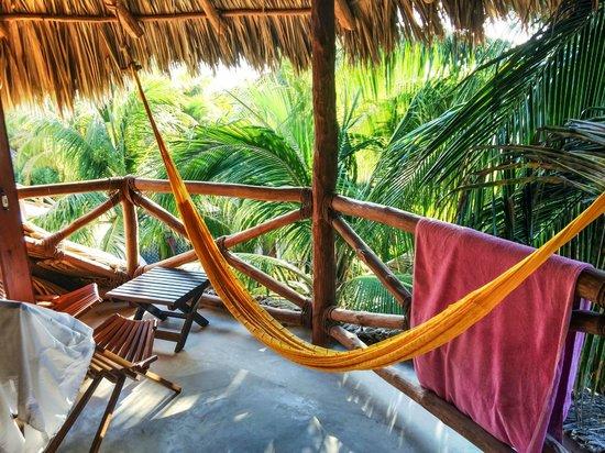 Holbox Hotel Casa las Tortugas - Petit Beach Hotel & Spa: Patio hammock
