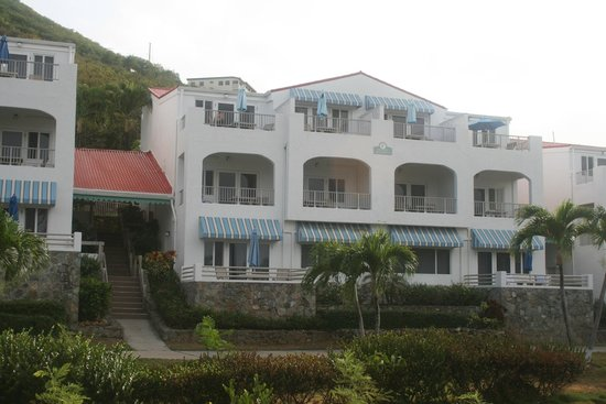 Bluebeard's Beach Club and Villas: One of the buildings